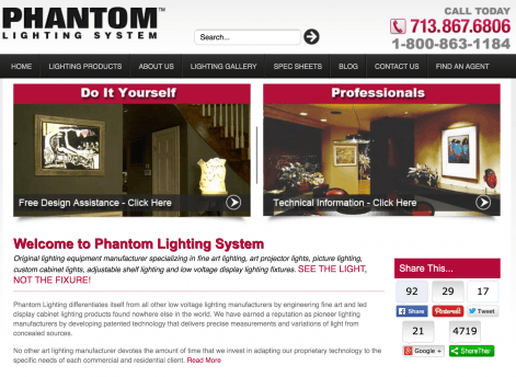 Phantom Lighting