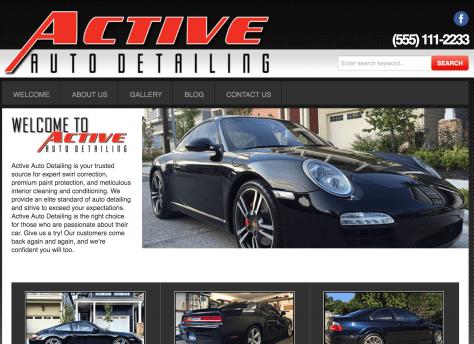 Active Auto Detailing